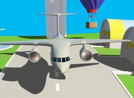 All'aeroporto: Un aereo per i passeggeri (Boeing)