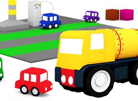 Macchinine colorate: il camion cisterna