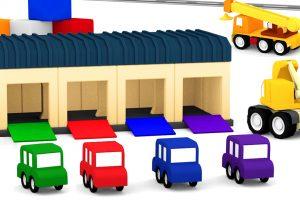 Macchinine colorate: il garage