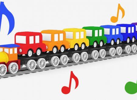 Canzoni per bambini: Colori d'arcobaleno