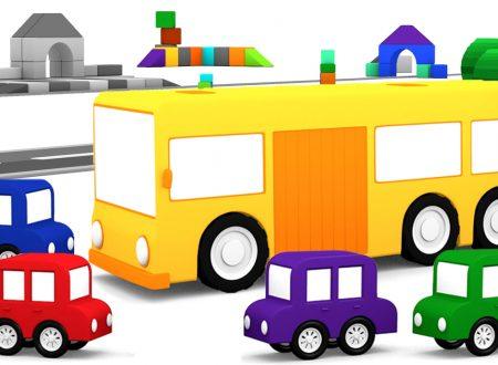 Macchinine colorate e l'autobus