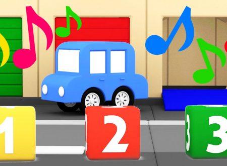 Macchinine colorate – Canzoni dei Colori e Numeri