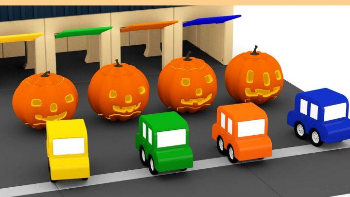le quattro macchinine ad Halloween !