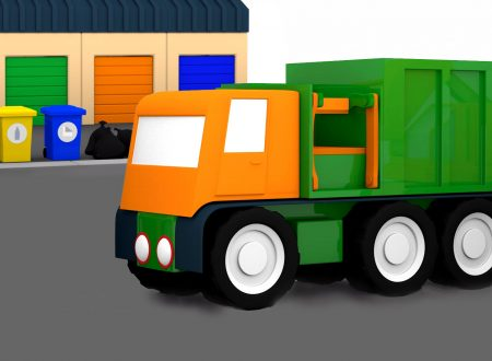 Macchinine Colorate: Come riciclare la spazzatura