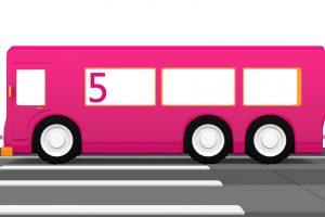 Macchinine Colorate e l'autobus numero cinque