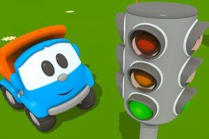 Camioncino Leo Junior e il semaforo