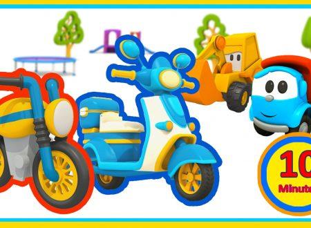Max e Leo Junior con i loro motorini
