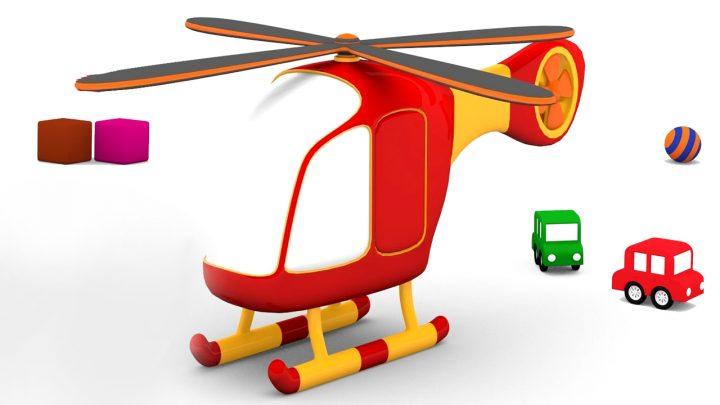 l'elicottero delle macchinine