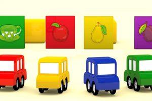 Macchinine Colorate e i Puzzle