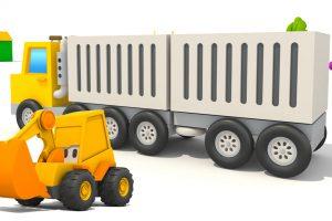L'Escavatore Max ed il camion container