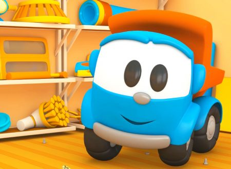 Leo il camion curioso e l'aspirapolvere robot