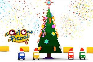 Macchinine colorate e il giorno di Natale