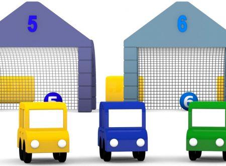 Cartoni animati per bambini: Macchinine colorate e una sfida ai rigori