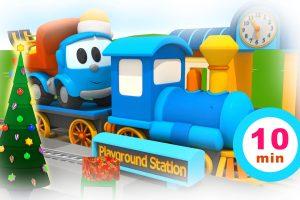 Natale con Leo il camion curioso e le macchinine colorate