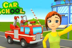 Car School : a scuola con i camion dei vigili del fuoco