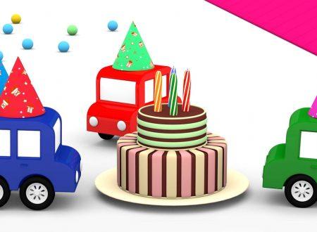 Il compleanno delle macchinine colorate