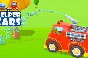 Helper cars: il camion da lavoro e la vasca di palline