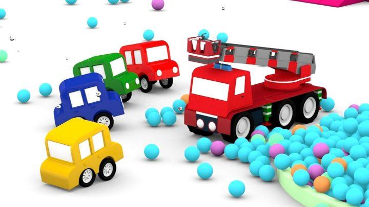 le macchinine ed il camion dei pompieri