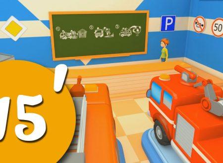 Carschool! Lily ed i camion dei pompieri | Compilation di cartoni animati per bambini