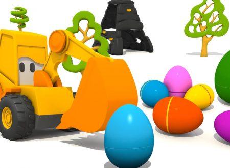 Max l'escavatore e le uova di Pasqua