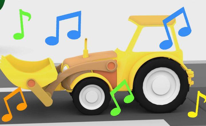 La canzone del trattore – macchinine colorate