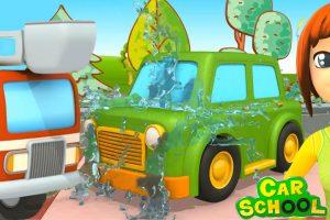 Car School : una nuova missione speciale per i camion dei pompieri!