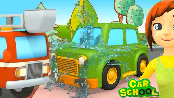 Camion, Pompieri, scuola per i camion