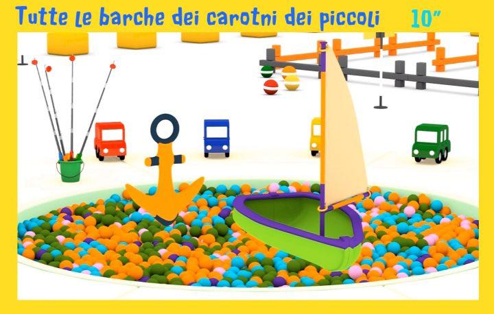 Le barche dei cartoni animati