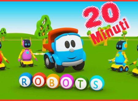 Camioncino Leo Junior e i robot