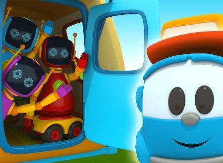 Leo il camion curioso e la roulotte