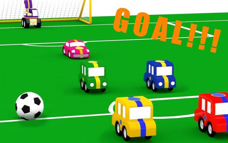 Il campionato di calcio delle macchinine colorate!