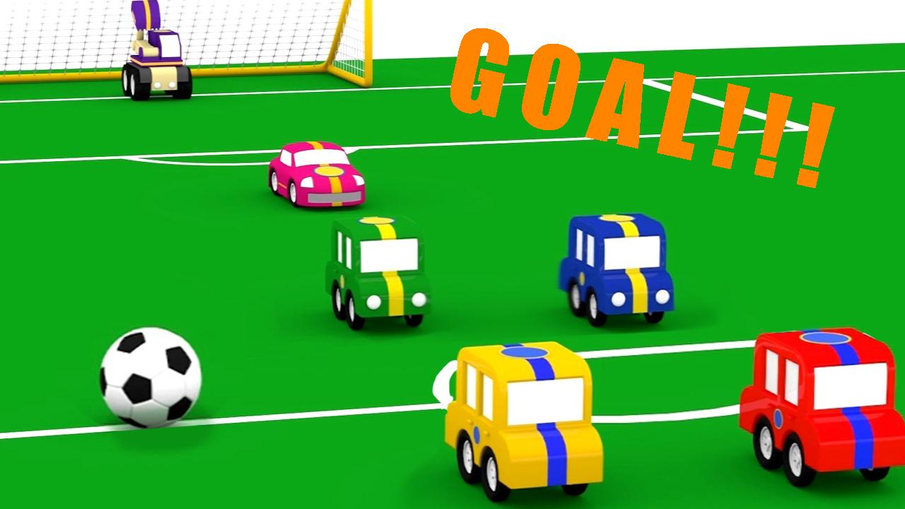 Il campionato di calcio delle macchinine colorate