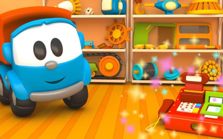 Cartoni animati: Camioncino Leo Junior e il registratore di cassa