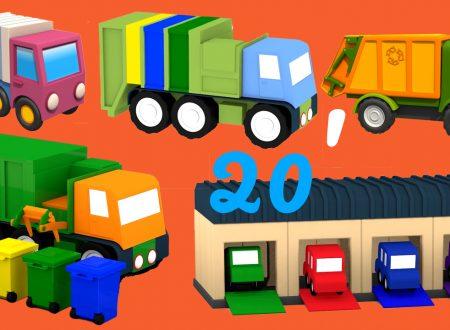 SPECIAL: Tutti i camion spazzatura possibili! Cartoni animati per Bambini