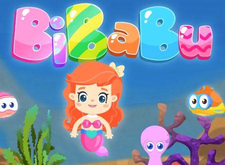 """BiBaBu """"La parola Magica"""" La piccola Sirenetta ed i pesciolini"""