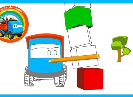 Il mondo dei colori: impariamo i colori insieme a Leo il camion curioso!
