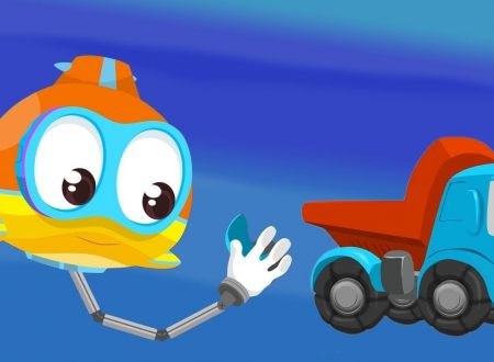 Oscar il sottomarino e puzzle di Leo il camion