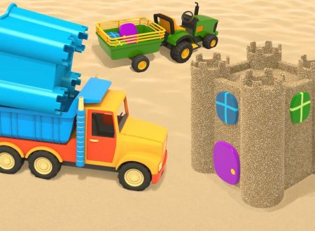 Camion sulla spiaggia