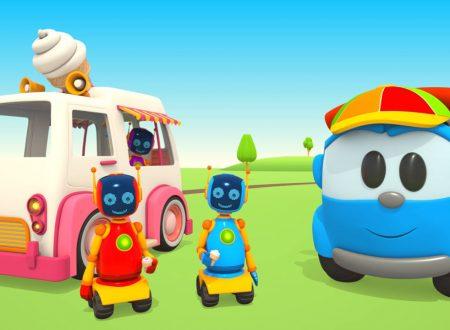 Leo il camion e il camioncino dei gelati