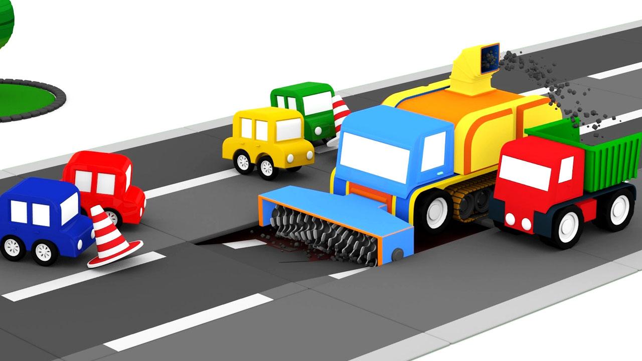 fresa per asfalto