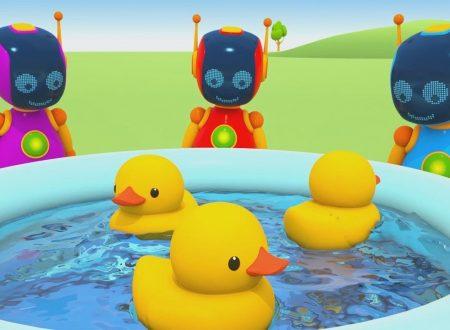 Leo Junior e la piscina per le paperelle