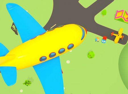 Leo il camioncino curioso e la costruzione del Jet aeroplano
