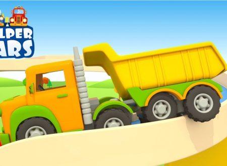 Il grande camion autoarticolato HELPER CARS
