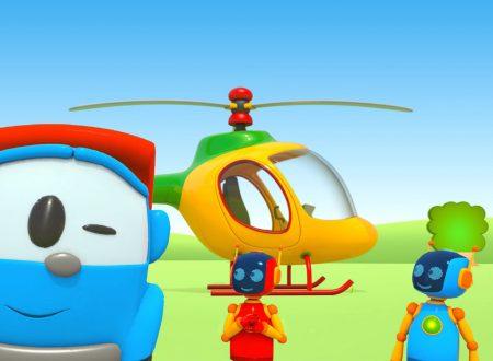 Leo e Lifty costruiscono un elicottero