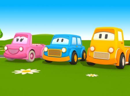 L'Autosquadra – Giochi con le Macchinine!