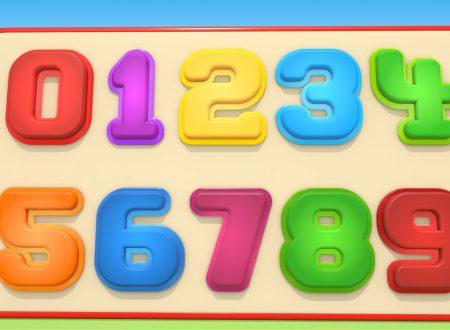 Numeri con l'Autosquadra! Puzzle e Formine