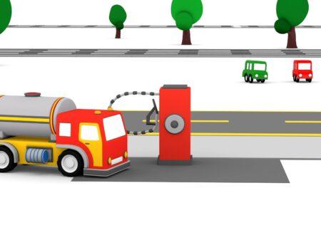 Le Macchinine Colorate e il Carburante!