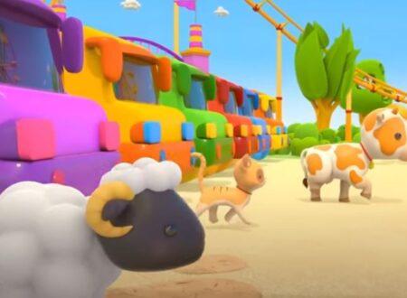 Leo Camion Curioso! Animali su Autobus e Trenini!