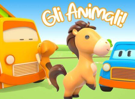 L'Autosquadra e gli Animali! Compilation Cartoni