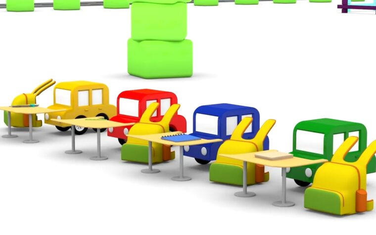 Inizia la Scuola con le Macchinine Colorate!